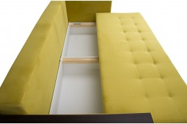 Диван Индиана (Атланта) евро Velvet Yellow