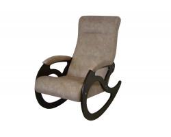 Кресло качалка Венера/Темный орех/Серо-коричневый ТОРОНТО 01 фото